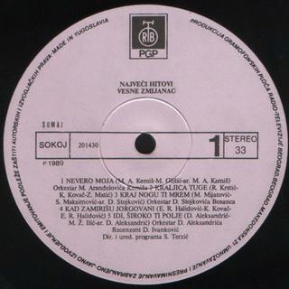 Vesna Zmijanac - Diskografija R-345130