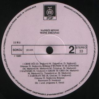 Vesna Zmijanac - Diskografija R-345131