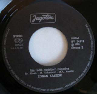 Zoran Kalezic - Diskografija R-353511