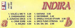 Indira Radic - Diskografija R-355612