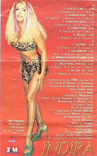 Indira Radic - Diskografija R-355614
