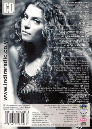 Indira Radic - Diskografija R-358011