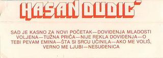Hasan Dudic - Diskografija R-358410