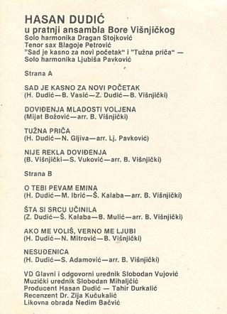 Hasan Dudic - Diskografija R-358414
