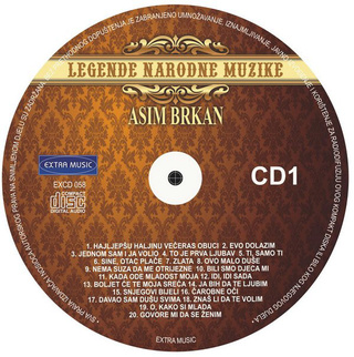Asim Brkan - Diskografija 2 R-362212