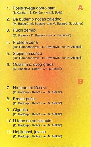 Vesna Zmijanac - Diskografija R-364317
