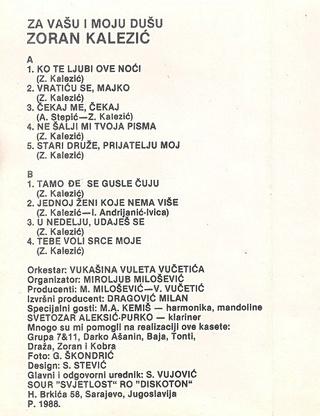Zoran Kalezic - Diskografija R-378611