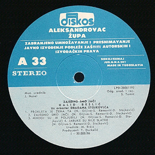 Halid Beslic - Diskografija R-382912
