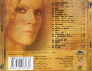 Indira Radic - Diskografija R-400111