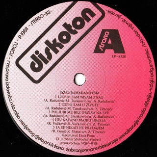 Dzej Ramadanovski - Diskografija  R-403712