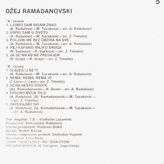 Dzej Ramadanovski - Diskografija  R-403713