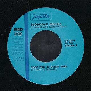 Slobodan Mulina - Diskografija  R-411312