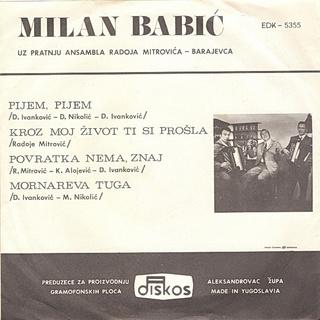 Milan Babic - Diskografija 2 R-419118