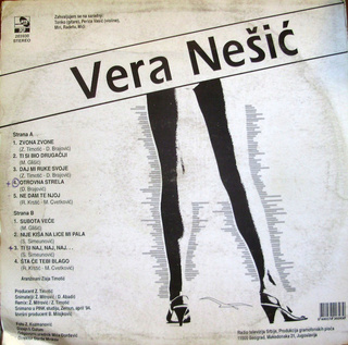 Vera Nesic - Diskografija  R-419210