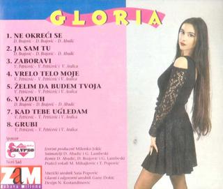Gloria (Vesna Blagojevic) - Diskografija  R-422122