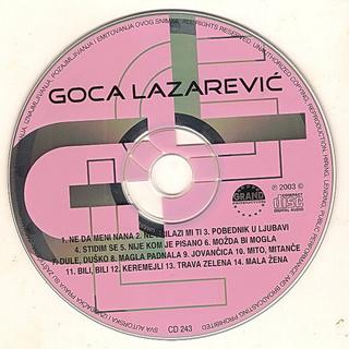 Gordana Lazarevic - Diskografija R-426014