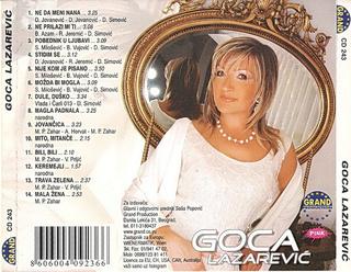 Gordana Lazarevic - Diskografija R-426015