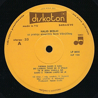 Halid Beslic - Diskografija R-427212