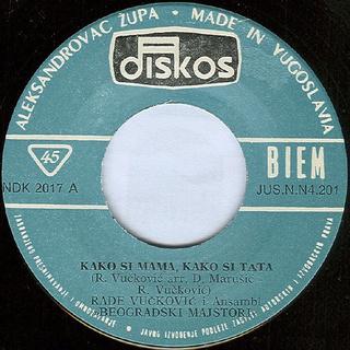 Rade Vuckovic - Diskografija  R-428916