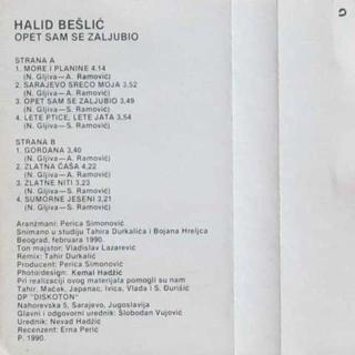 Halid Beslic - Diskografija R-429610
