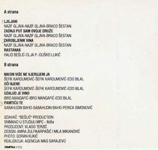 Halid Beslic - Diskografija R-429615