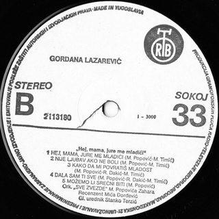 Gordana Lazarevic - Diskografija R-467122