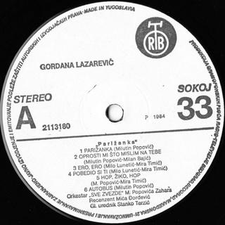 Gordana Lazarevic - Diskografija R-467123
