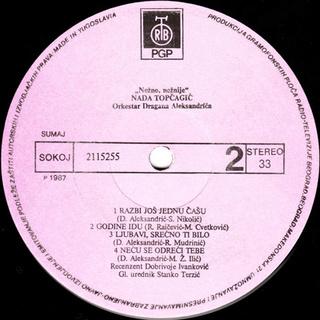 Nada Topcagic - Diskografija R-473013