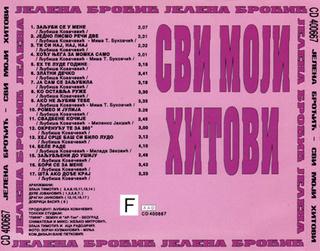 Jelena Brocic -Diskografija R-476413