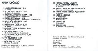 Nada Topcagic - Diskografija R-480122