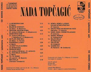 Nada Topcagic - Diskografija R-480123