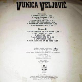 Vukica Veljovic - Diskografija  R-487016