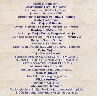 Mira Skoric - Diskografija  R-490913