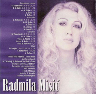 Radmila Misic - Diskografija R-493614