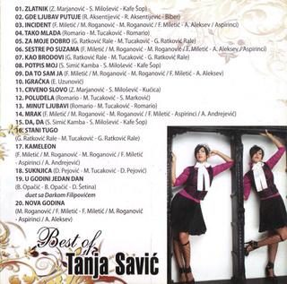 Tanja Savic - Diskografija  R-494717