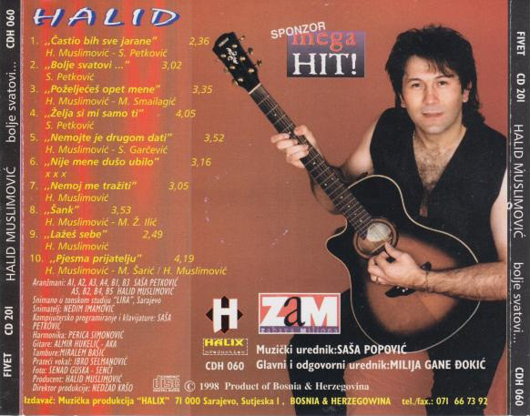 Halid Muslimovic - Diskografija R-499111