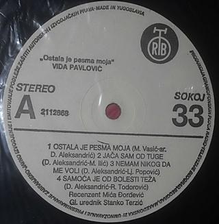 Vida Pavlovic - Diskografija 2 R-501721