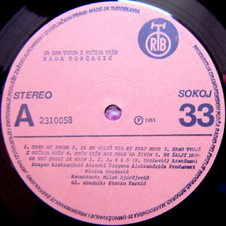 Nada Topcagic - Diskografija R-508110