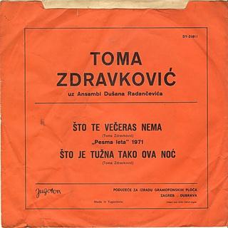 Toma Zdravkovic - Diskografija R-518512