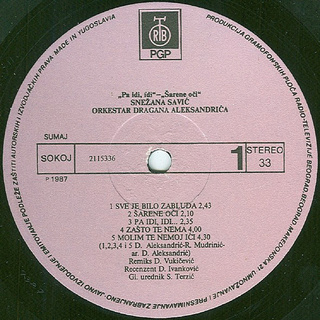 Snezana Savic - Diskografija R-528013