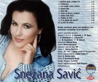 Snezana Savic - Diskografija R-528220