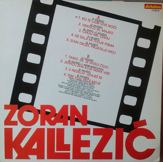 Zoran Kalezic - Diskografija R-529711