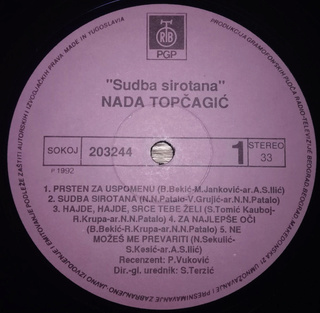 Nada Topcagic - Diskografija R-537922
