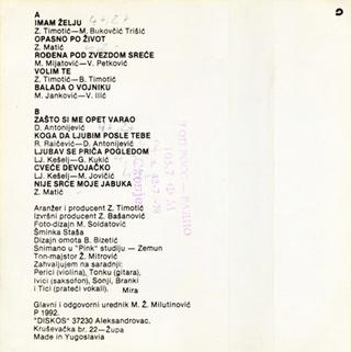 Mira Skoric - Diskografija  R-538017