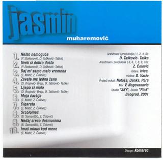 Jasmin Muharemovic - Diskografija R-539611