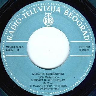 Muharem Serbezovski - Diskografija R-542013