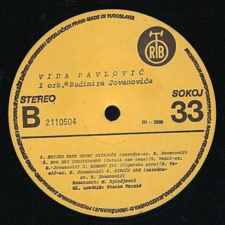 Vida Pavlovic - Diskografija 2 R-544812