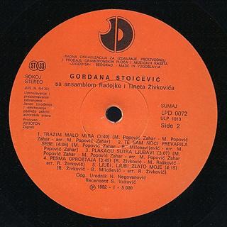 Gordana Stojicevic - Diskografija  - Page 2 R-546317
