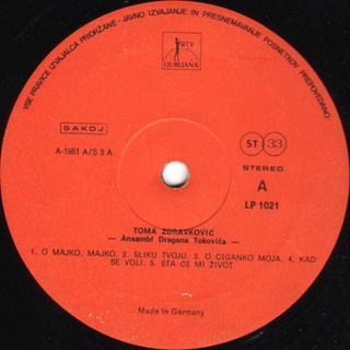 Toma Zdravkovic - Diskografija R-547612