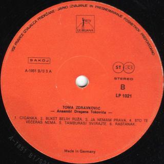 Toma Zdravkovic - Diskografija R-547613